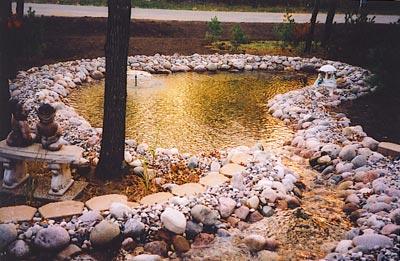 Pond installation in Central Wisconsin